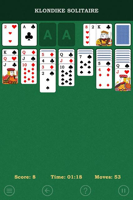 Klondike Solitaire Free Patience Card Game Universal IPhone IPad IPod Forums At