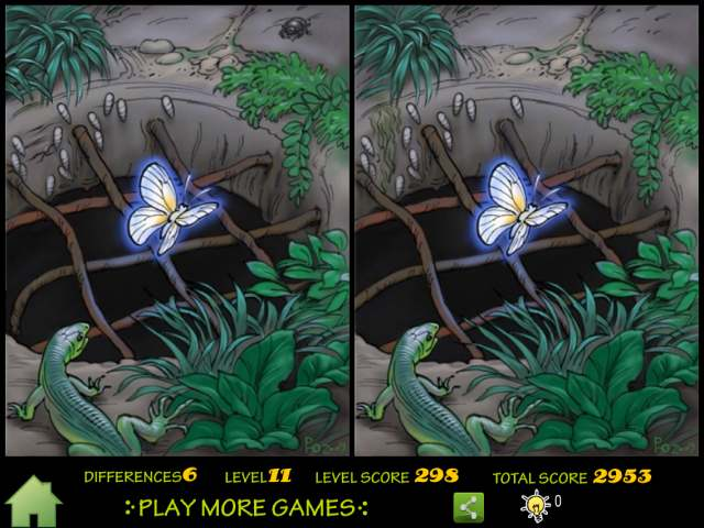 Butterfly Fantasy  Hardest Spot The Difference Puzzle  iPhone iPad iPod Forums at iMorecom