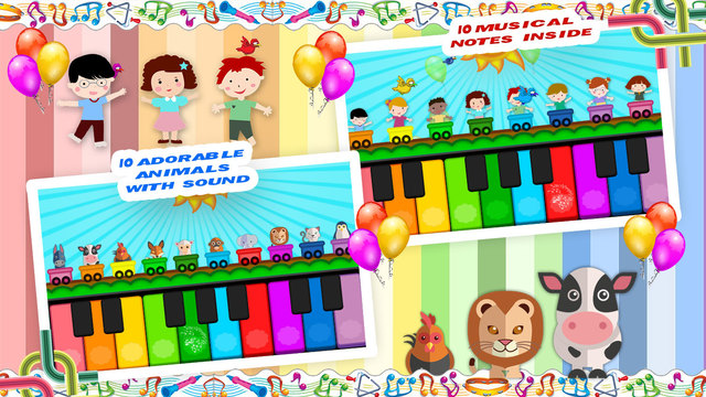 Kids Piano - Fun Learning App for kids - iPhone - iPhone ...