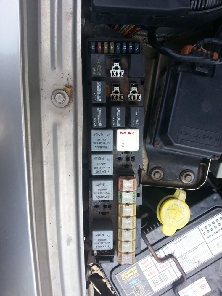 2003 Holden Commodore Vy Fuse Box Diagram