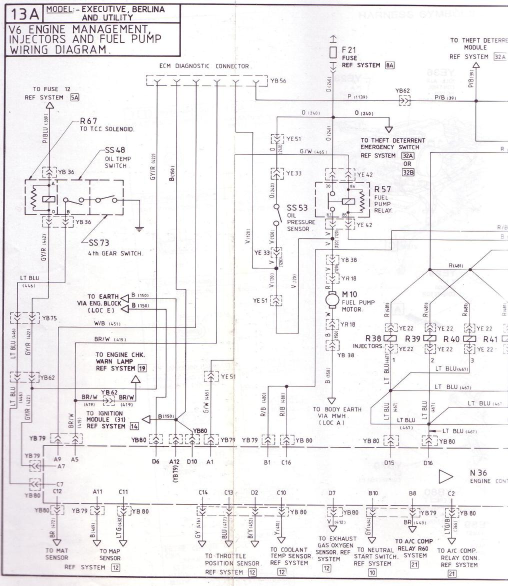 vy commodore wiring diagram vz wiring diagram at gsmx.co