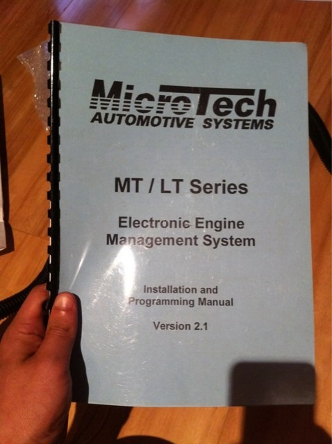 VIC Microtech LT10s With Basic Ecotec Turbo Map Comes With
