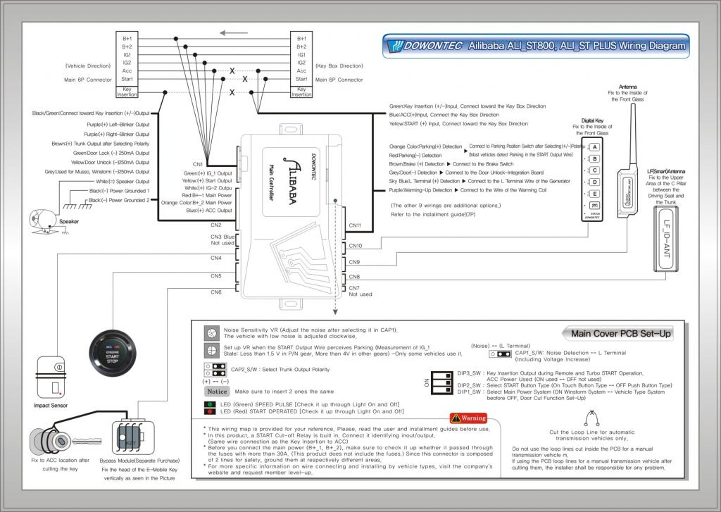 Audiovox Remote Start Wiring Diagram Avital Remote Starter