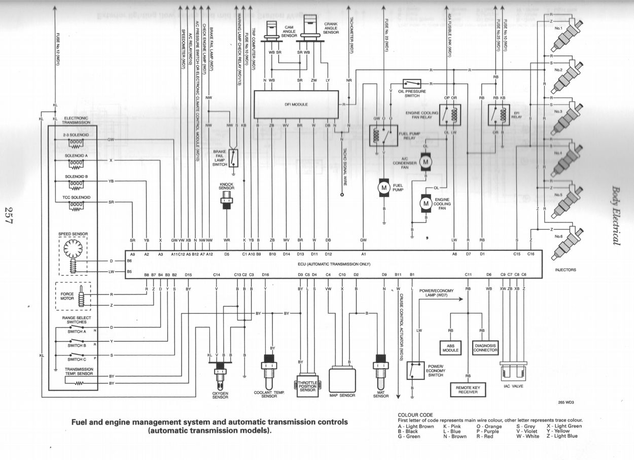 vz headlight wiring diagram denso 4 wire o2 sensor vl ignition 26 images