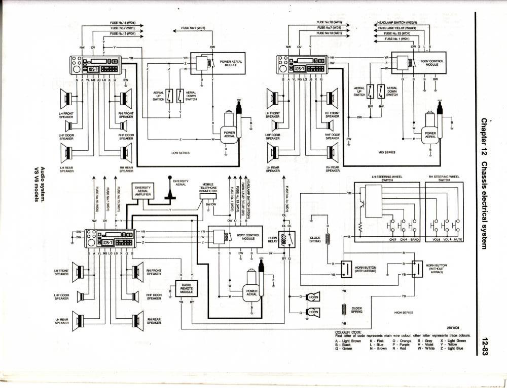Vy Steering Wheel Control Wiring Diagram : 40 Wiring
