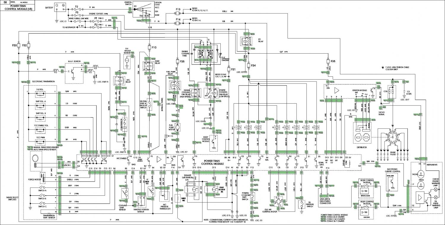 hight resolution of vs v8 auto wiring diagram wiring diagram forward vn v8 ecu wiring diagram