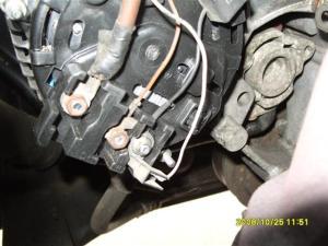 Replacing a 300TDI Disco Alternator  Land Rover Technical