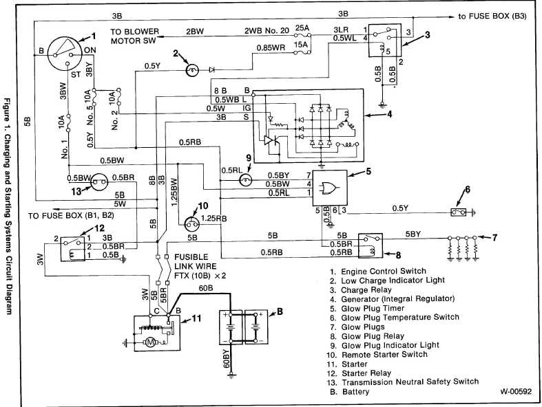 Relay Wiring Diagram For 1999 Isuzu Npr