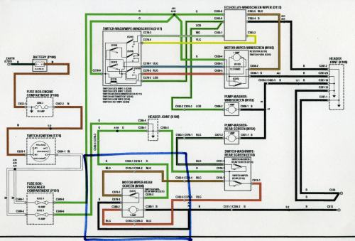 small resolution of rear wiper motor wiring defender forum lr4x4 the land rover 110 fuse box diagram land rover