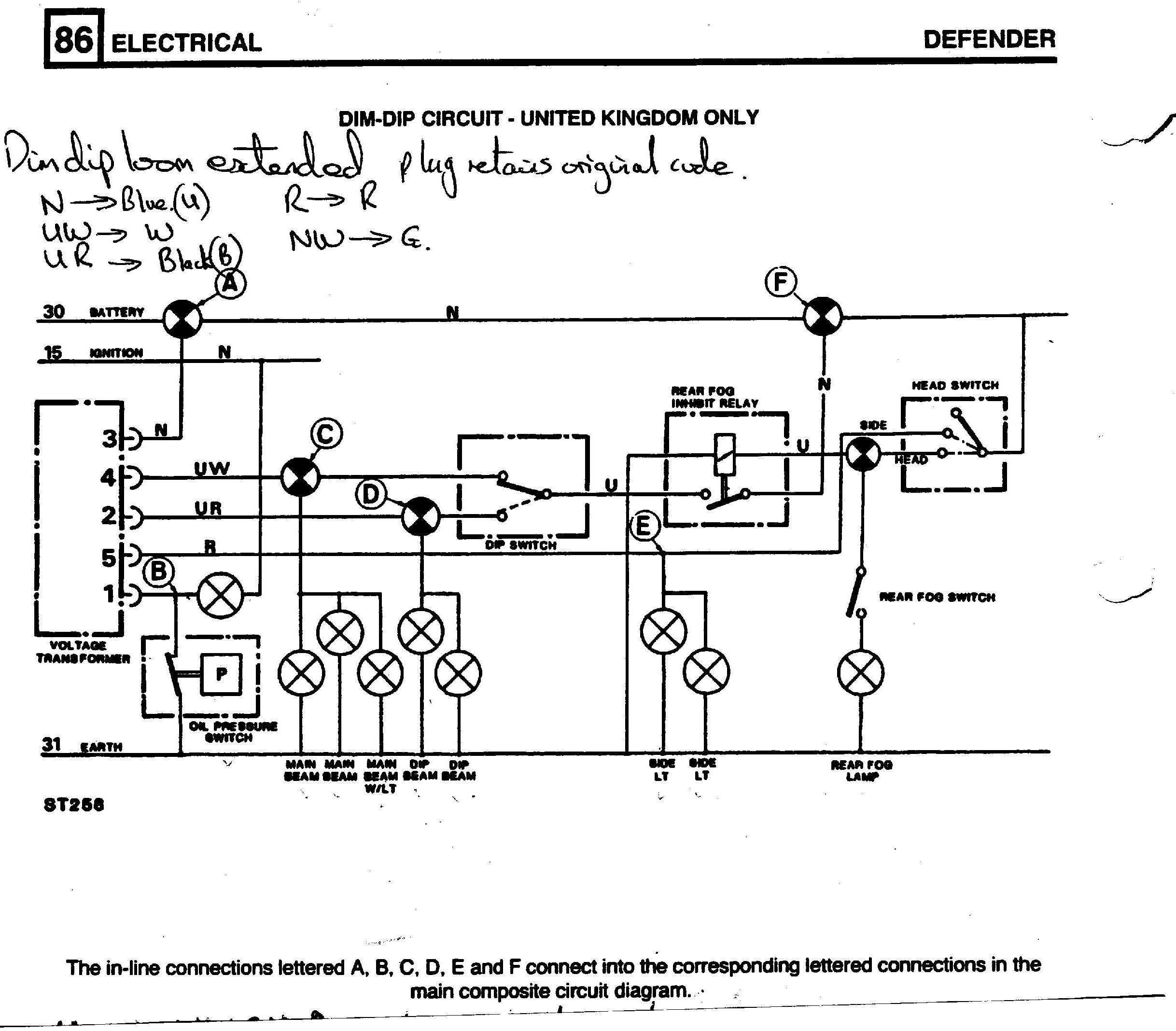 H13 Wire Diagram