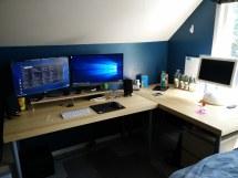 Post Desk Area Setups Decorate
