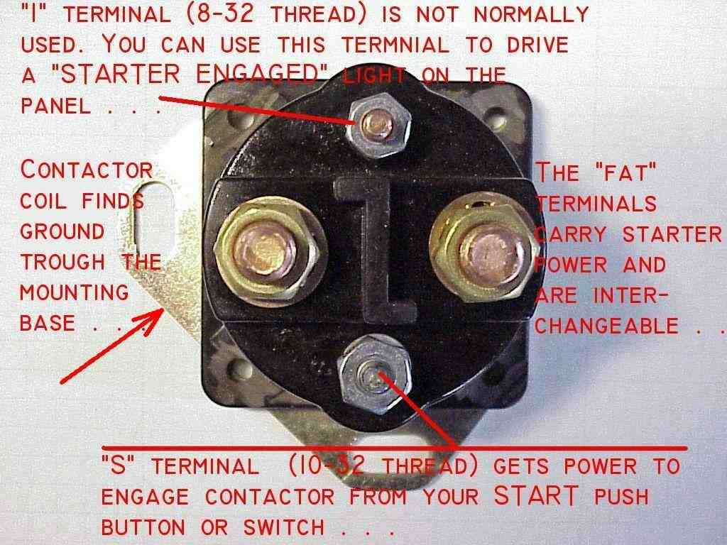 wiring diagram for starter solenoid trailer lights 4 wire 96 mustang get free