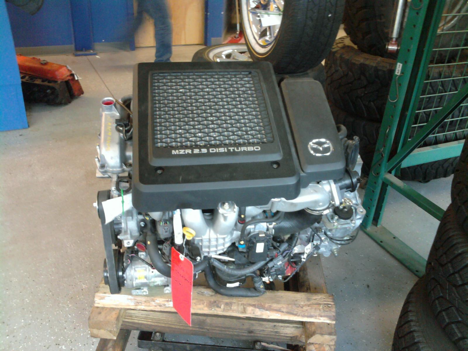 hight resolution of mazda 2 3 turbo engine