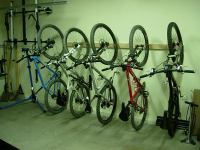 """The annual """"storing your bike in the garage"""" post- Mtbr.com"""