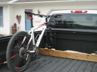Pick up truck bike racks?