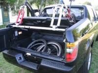 Honda Ridgeline + Yakima Roof Rack