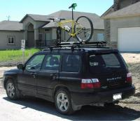Subaru Forester Bicycle Roof Rack - Bicycle Models