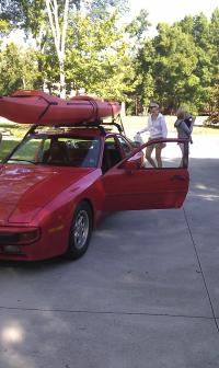 Daily driver: Porsche 944--any suggestions for a bike rack ...