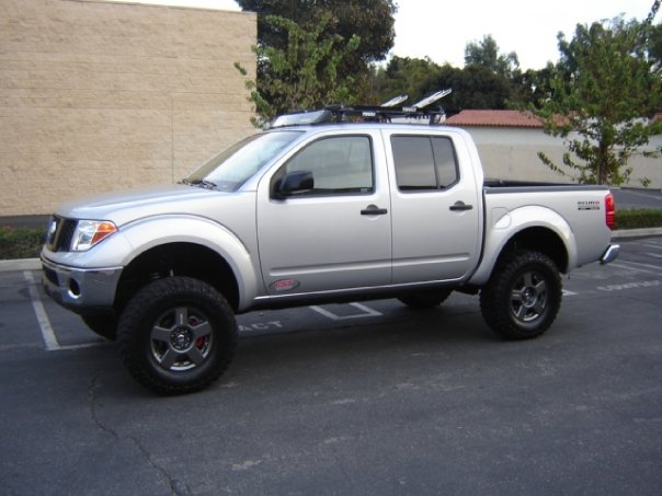 Roof rack options for Nissan Frontier