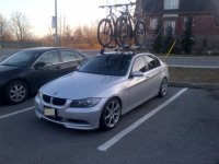 BMW 335i integrated roof rack?- Mtbr.com