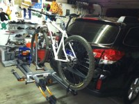 Car rack for carbon bike -- Mtbr.com