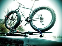 Fat Bike on Roof Rack?