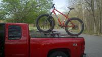 How to haul my Fat Bike in a 5.5ft truck bed?- Mtbr.com