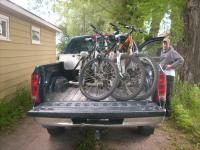 Diy Truck Bed Bike Rack Plans - DIY Design Ideas