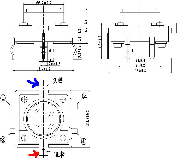 6 Pin Momentary Rocker Switch Wiring Diagram 6 Pin Tactile