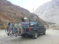 Custom Tandem Roof Rack: Carries the Tandem with the ...