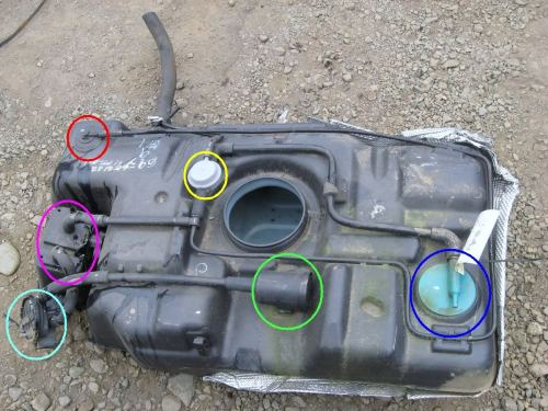 small resolution of can you identify any items on this gas tank