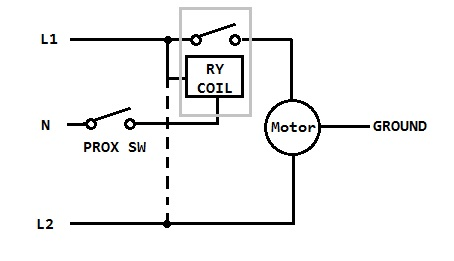 220v relay and proximity switch — Parallax Forums