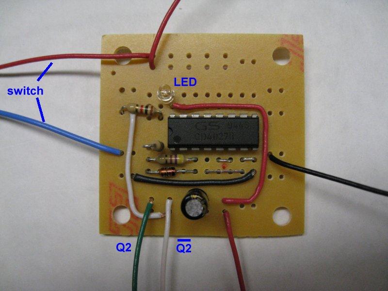 Circuit Jk Flip Flop Jk Flip Flop Using T Touch Sensor Switch Circuit