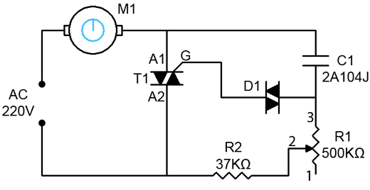 Controlling AC Universal Motor (Blower) with a Propeller
