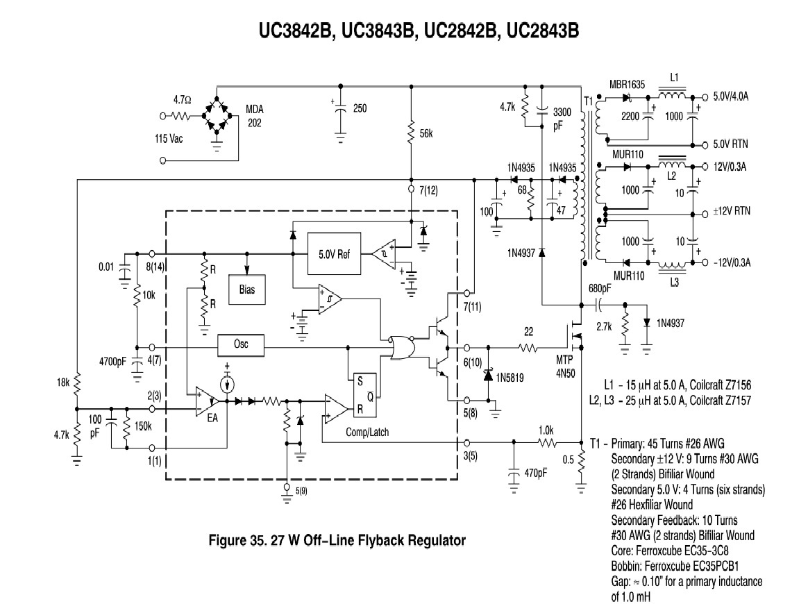 Question on UC3842B Current Mode Controller — Parallax Forums