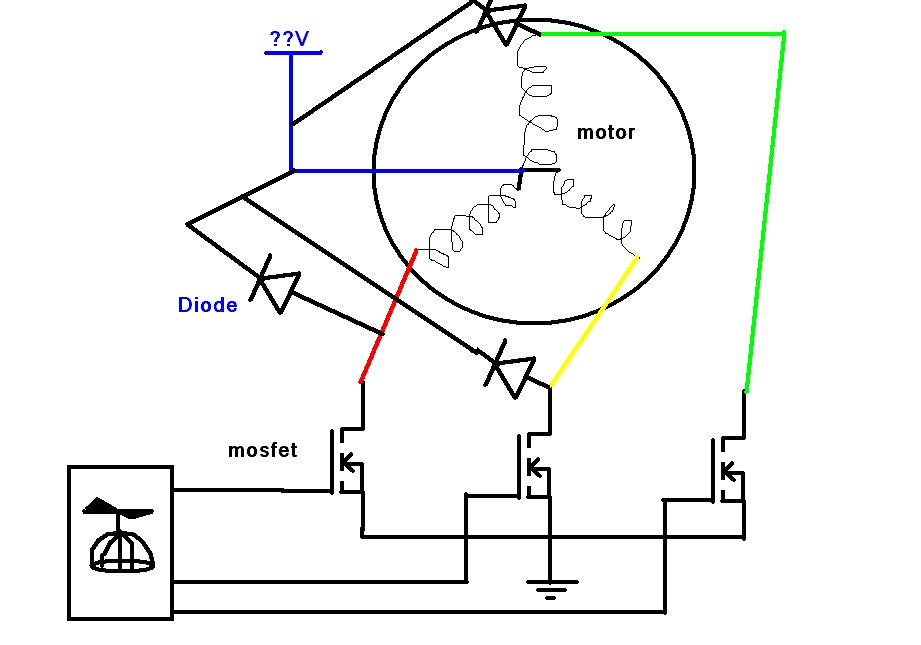 Control HDD spindle motor — Parallax Forums