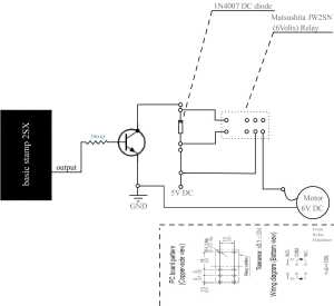 DC motor and basic stamp 2 — Parallax Forums