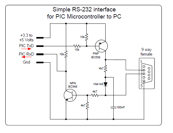 RS232 to CMOS Voltage Converter — Parallax Forums