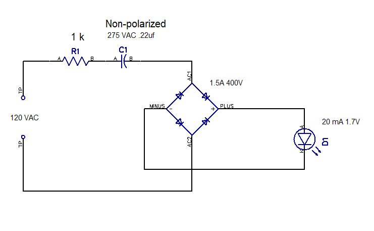 110 VAC LED circuit — Parallax Forums