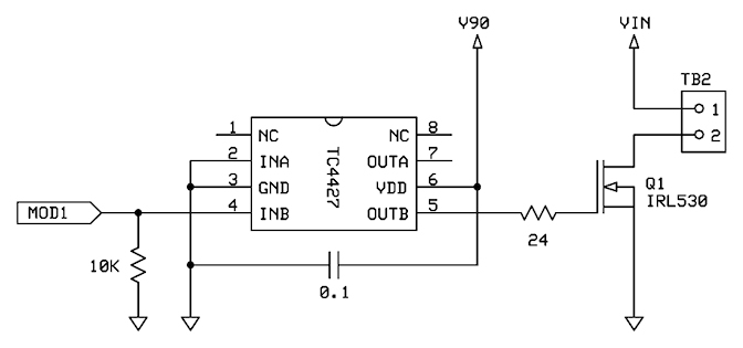 MOSFETs and the Propeller — Parallax Forums