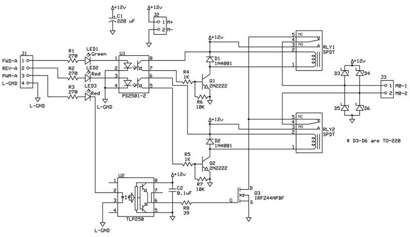 H-bridge circuit? — Parallax Forums