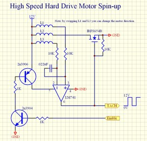 Hard Disk Drive Motor 4 Wire Connection Diagram  Somurich
