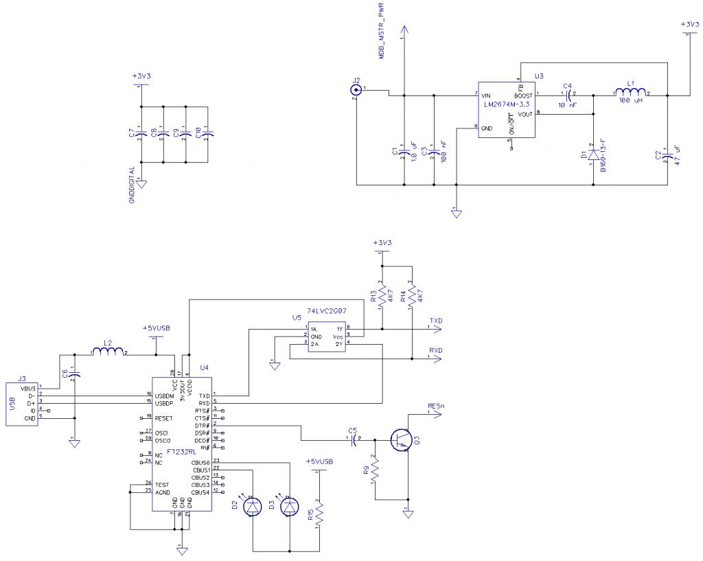 Ftdi Usb Interface To Propeller Circuit Variations