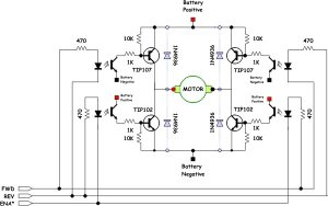 H bridge driver for 2 Pchan and 2 Nchan mosfets — Parallax