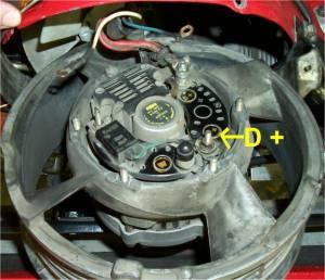Alternator wiringquick question  Pelican Parts Technical BBS