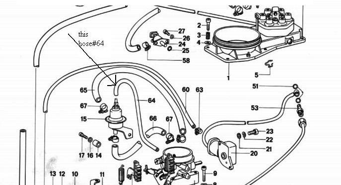1975 Porsche 911 Vacuum Diagram. Porsche. Auto Wiring Diagram
