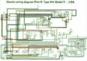 914 Color Coded Electrical Wiring Diagrams 19701973  Pelican Parts Forums