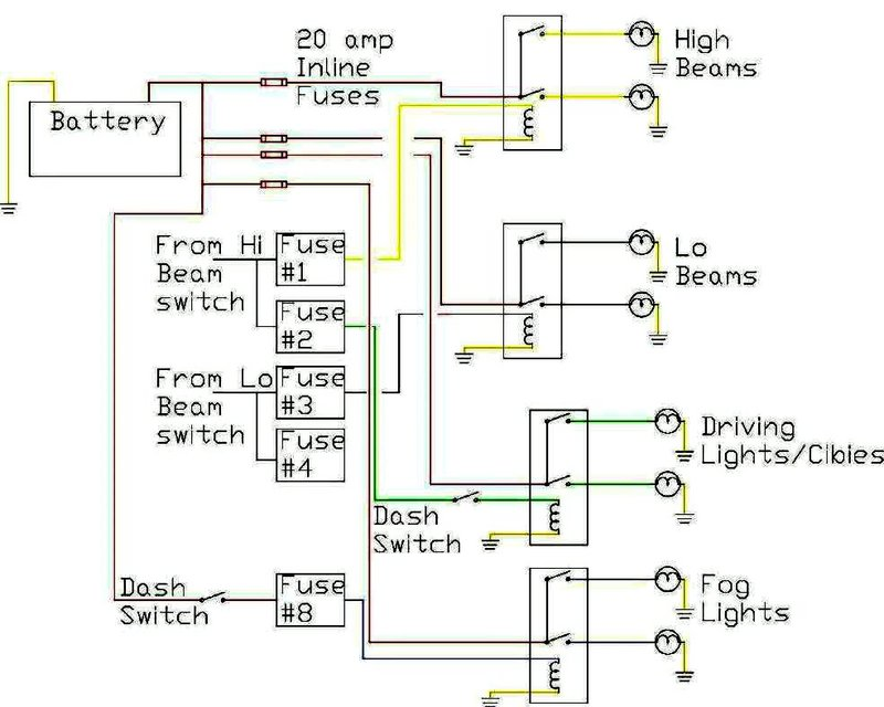 porsche 356 wiring diagram sony xplod cdx gt25mpw headlight relays - where are the wires to headlights? rennlist discussion forums