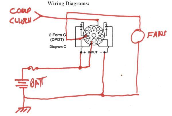 Rear A C Condenser Fan Relay Wiring Diagram Pelican Parts