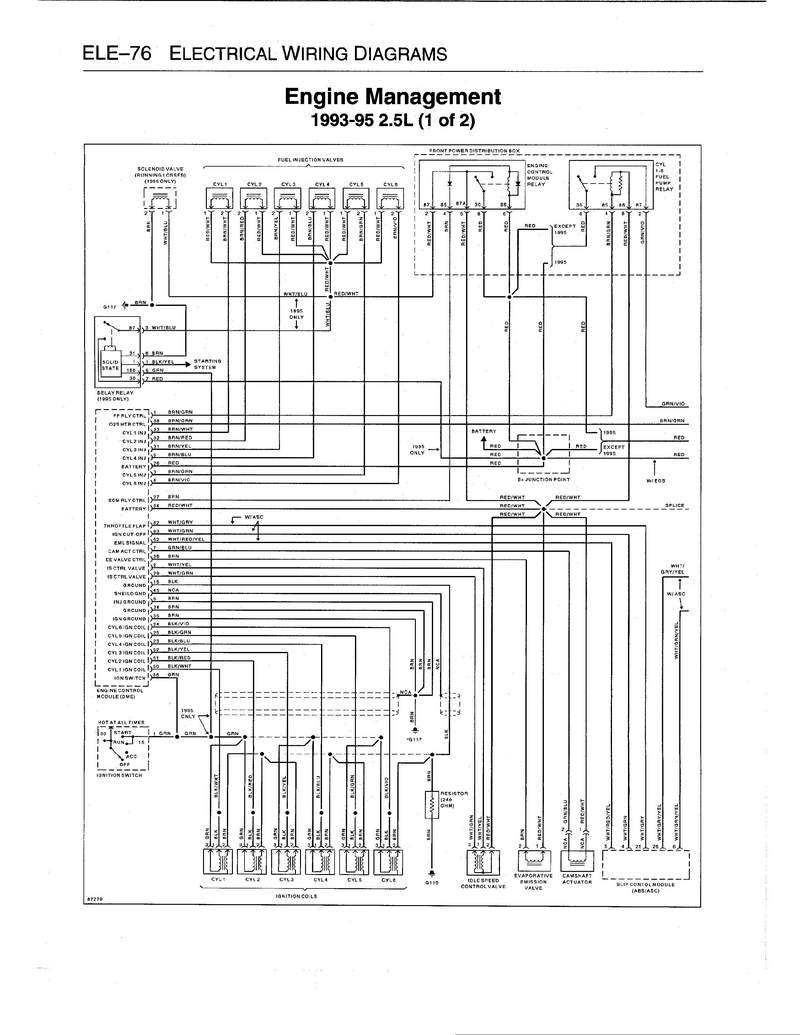 Wiring Diagram For Fuel Pump Relay 1997 Bmw 740i : 48